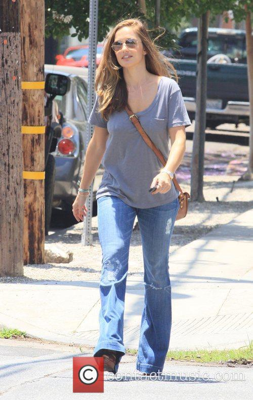Minka Kelly  out and about in West...