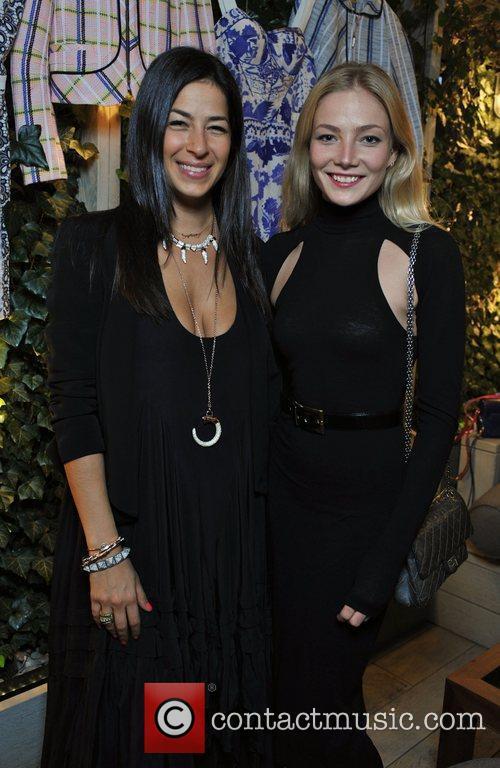 Rebecca Minkoff and Clara Paget Rebecca Minkoff -...