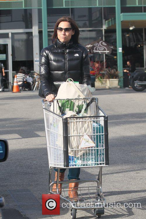 Leaving Whole Foods after shopping for Groceries