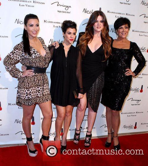 Kim Kardashian, Khloe Kardashian, Kourtney Kardashian and Kris Jenner 2