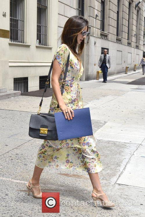 Miranda Kerr is seen out and about in...