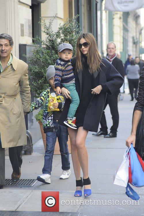 Miranda Kerr, Flynn and Manhattan 4