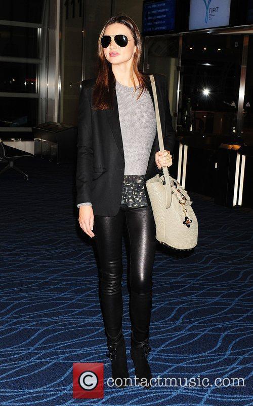 Miranda Kerr  at Tokyo Haneda airport Tokyo,...