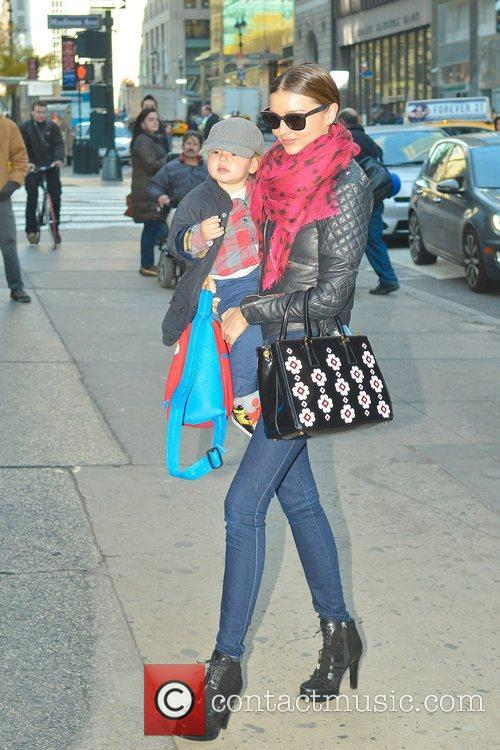 Miranda Kerr, Flynn and Manhattan 1