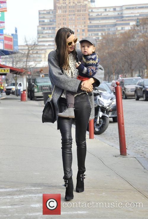 miranda kerr out and about with her 4187857