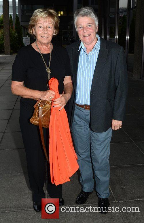 celebrities at the rte studios for saturday night with