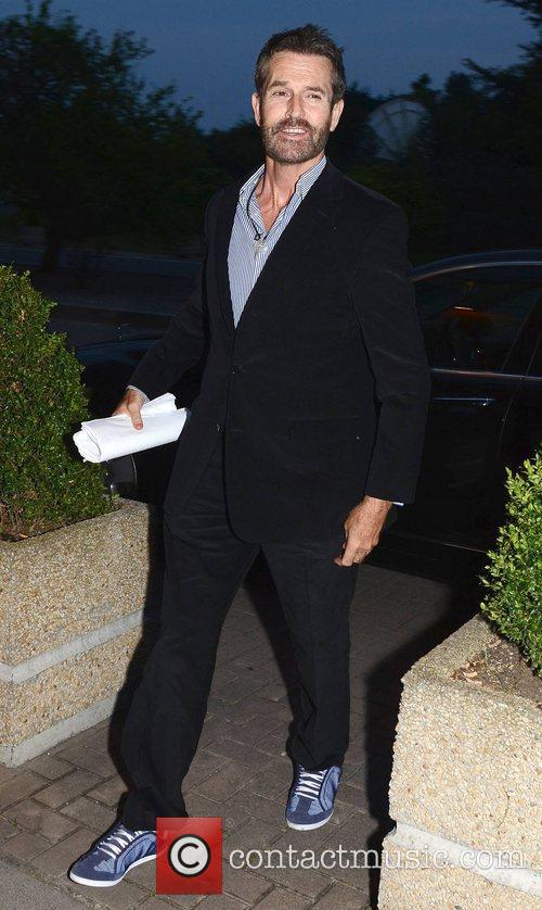 rupert everett celebrities at the rte studios 4029252