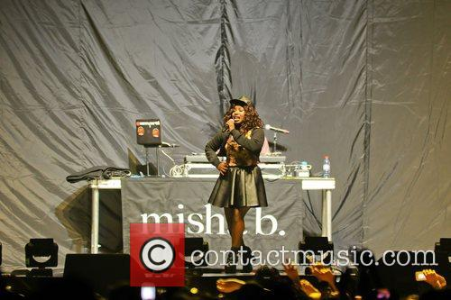 Supporting Nicki Minaj performing on stage the Capital...