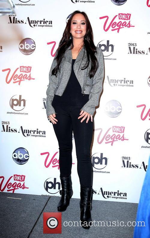 Cheryl Burke and Miss America 4