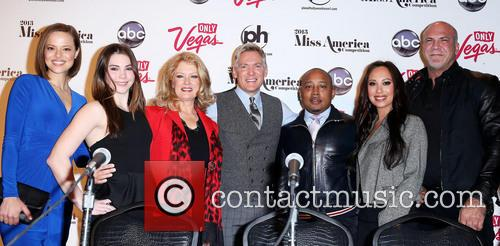 Katie Stam Irk, Maroney, Mary Hart, Sam Champion, Daymon and Miss America 9