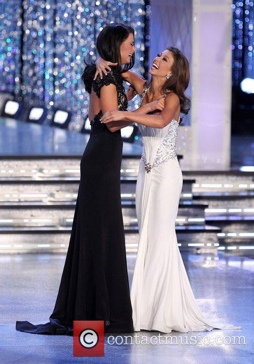 2012 Miss America Pageant final at the Theatre...