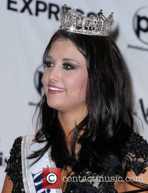 2012 Miss America Pageant Winner News Conference at...