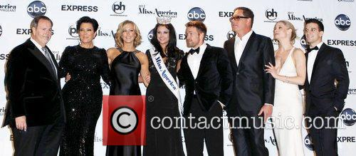 Raul De Molina, Kris Jenner, Lara Spencer, Mark Ballas, Mike Fleiss, Miss America, Teri Polo and Planet Hollywood 3