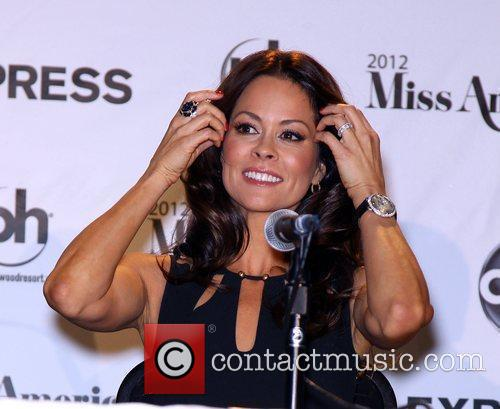 Brooke Burke-Charvet 2012 Miss America Pageant Co Hosts...