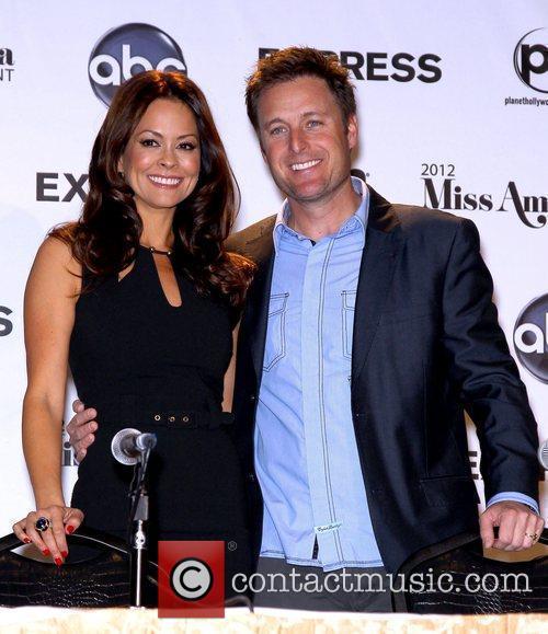 Brooke Burke-Charvet, Chris Harrison 2012 Miss America Pageant...