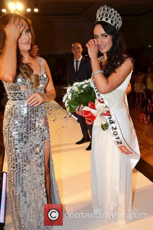 Miss Mayo Maire Hughes is named Miss Ireland...