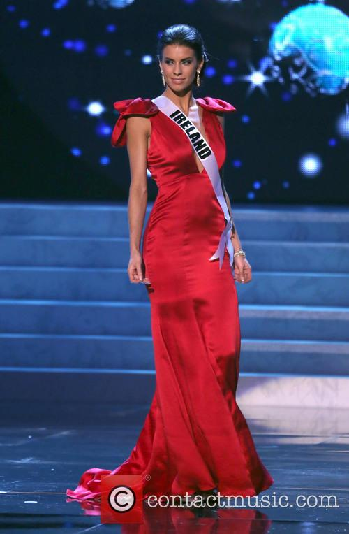 Adrienne Murphy; Miss Ireland 2012 Miss Universe Pageant...