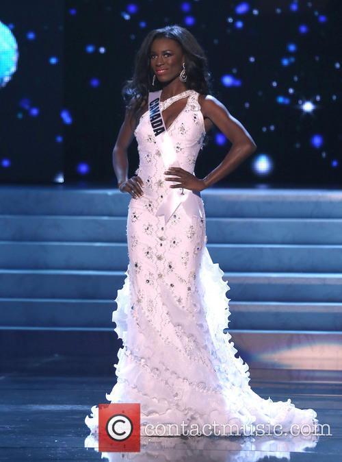 Adwoa Yamoah; Miss Canada 2012 Miss Universe Pageant...