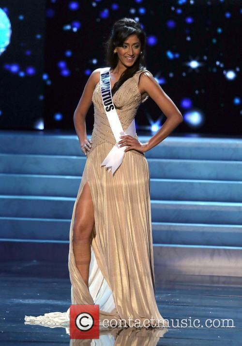 Ameeksha Dilchand; Miss Mauritius 2012 Miss Universe Pageant...