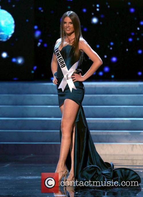 Andrea Radonjic; Miss Montenegro 2012 Miss Universe Pageant...
