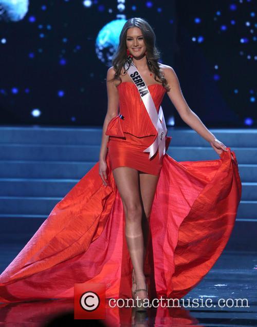 Branislava Mandic; Miss Serbia 2012 Miss Universe Pageant...