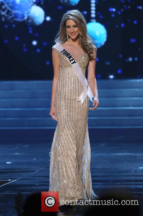 Cagil Ozge; Miss Turkey 2012 Miss Universe Pageant...