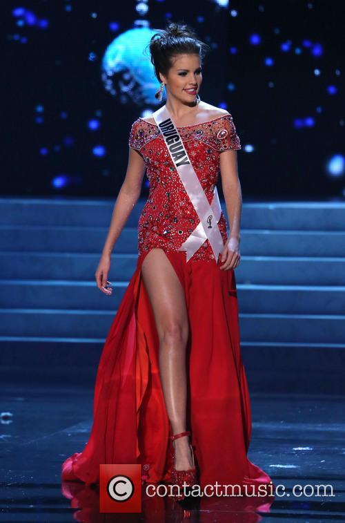 Camila Vezzoso; Miss Uruguay 2012 Miss Universe Pageant...
