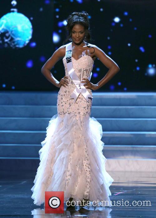 Channa Divouvi; Miss Gabon 2012 Miss Universe Pageant...