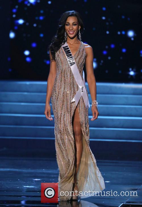 Chantal Zaky; Miss Jamaica 2012 Miss Universe Pageant...