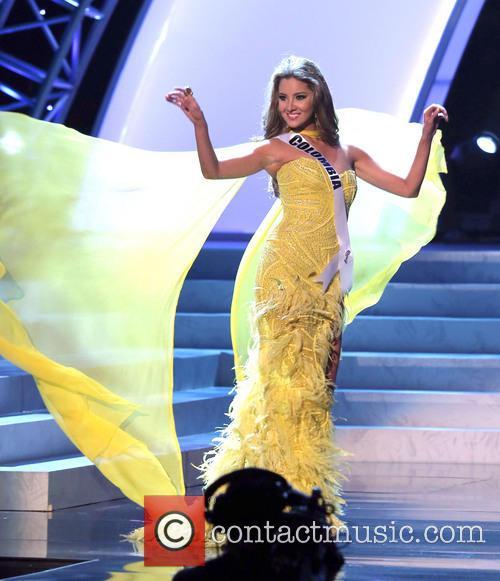 Daniella Alvarez; Miss Colombia 2012 Miss Universe Pageant...