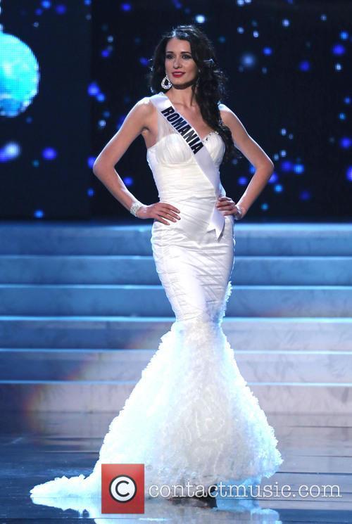 Delia Duca; Miss Romania 2012 Miss Universe Pageant...