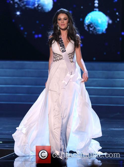 Diana Avdiu; Miss Kosovo 2012 Miss Universe Pageant...