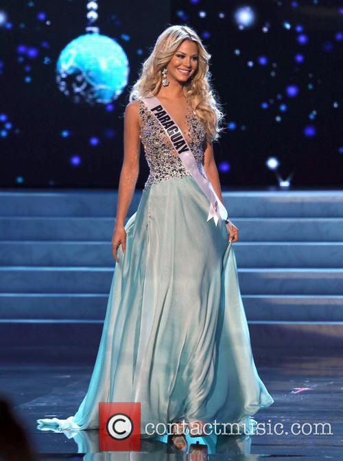 Egni Eckert; Miss Paraguay 2012 Miss Universe Pageant...