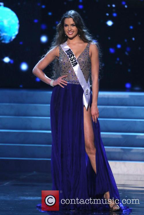 Elizaveta Golovanova; Miss Russia 2012 Miss Universe Pageant...