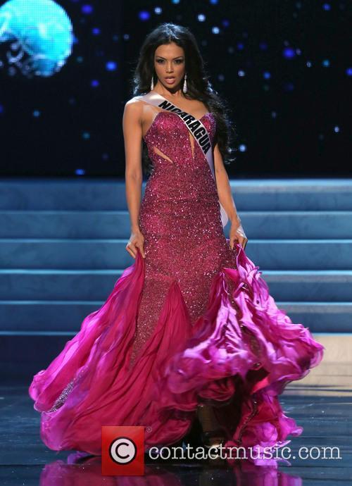 Farah Eslaquit; Miss Nicaragua 2012 Miss Universe Pageant...