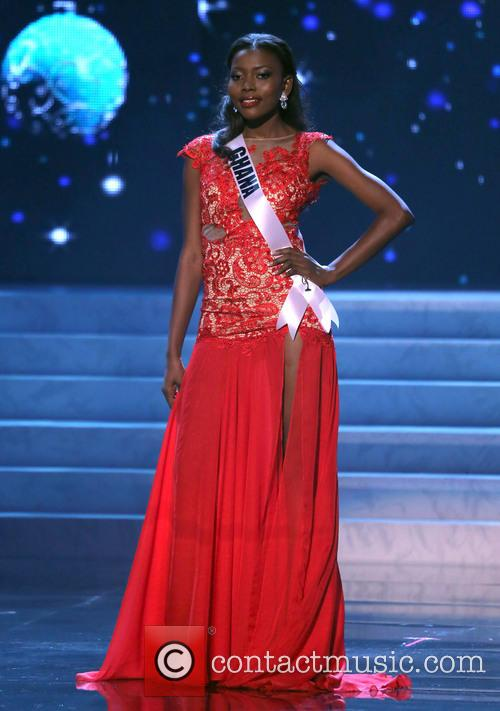 Gifty Ofori; Miss Ghana 2012 Miss Universe Pageant...