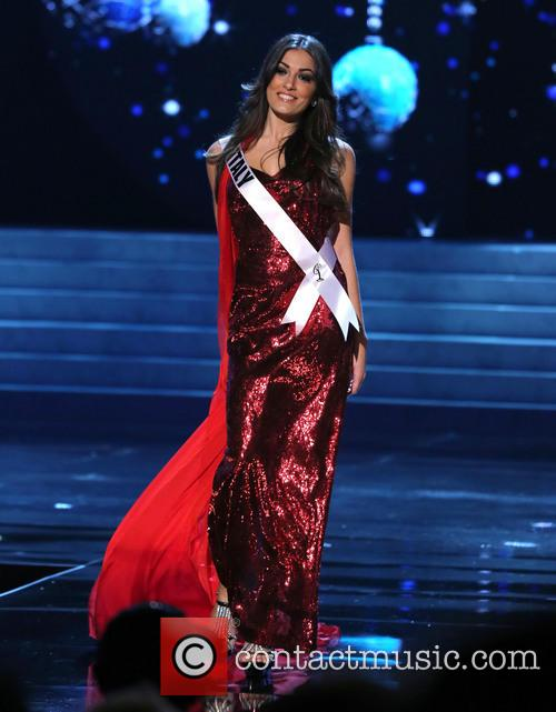 Grazia Pinto; Miss Italy 2012 Miss Universe Pageant...