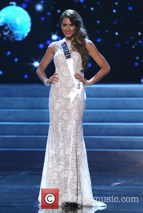 Hanni Beronius; Miss Sweden 2012 Miss Universe Pageant...