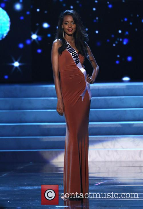 Helen Getachew; Miss Ethiopia 2012 Miss Universe Pageant...