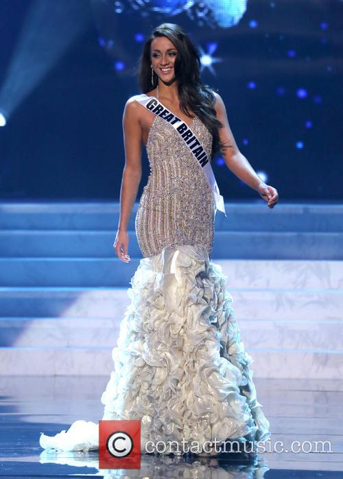 Holly Hale; Miss Great Britain 2012 Miss Universe...
