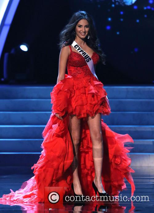 Ioanna Yiannakou; Miss Cyprus 2012 Miss Universe Pageant...