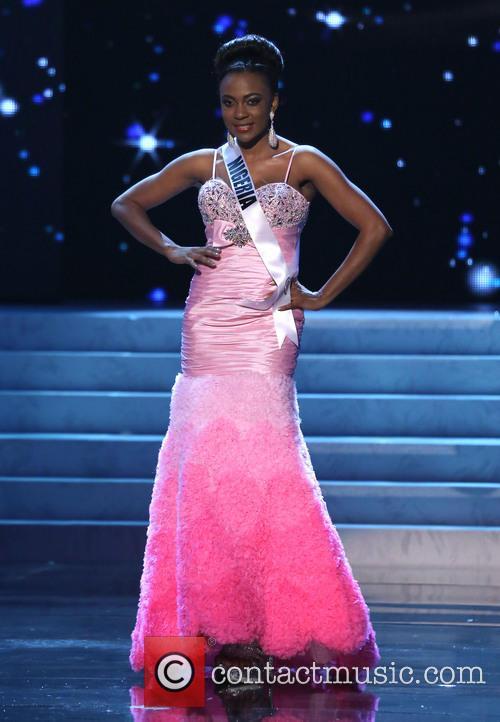 Isabella Ayuk; Miss Nigeria 2012 Miss Universe Pageant...