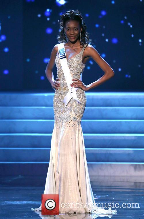 Jacques Christela; Miss Haiti 2012 Miss Universe Pageant...