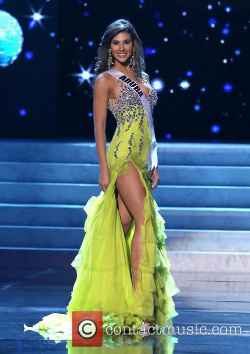 Liza Helder; Miss Aruba 2012 Miss Universe Pageant...