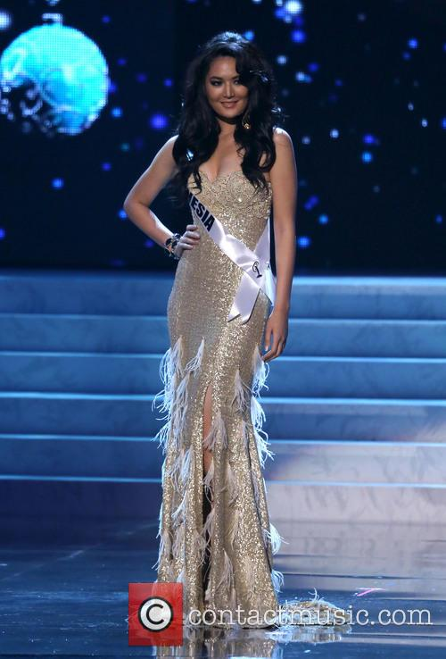 Maria Selena; Miss Indonesia 2012 Miss Universe Pageant...