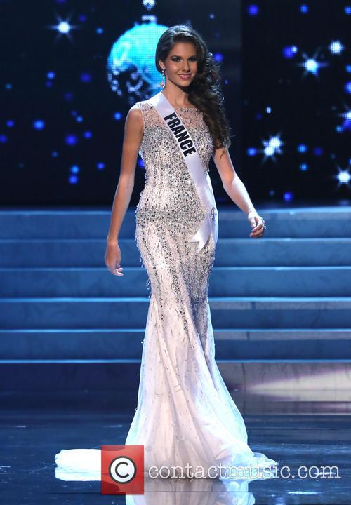 Marie Payet; Miss France 2012 Miss Universe Pageant...