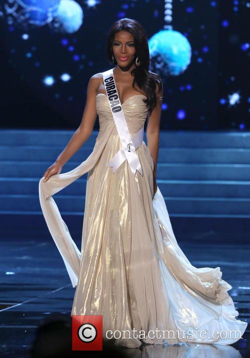Monifa Jansen; Miss Curacao 2012 Miss Universe Pageant...