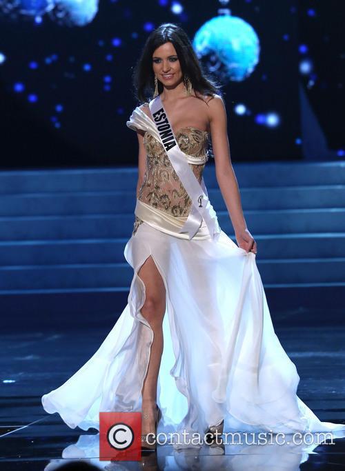 Natalie Korneitsik; Miss Estonia 2012 Miss Universe Pageant...
