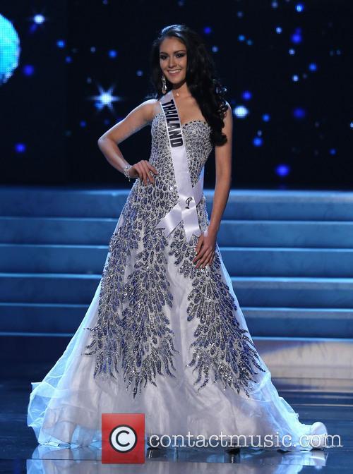 Nutpimon Farida Waller; Miss Thailand 2012 Miss Universe...