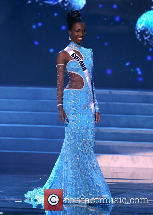 Ruqayyah Boyer; Miss Guyana 2012 Miss Universe Pageant...